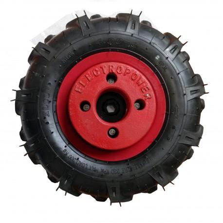 Jeu de roues avec pneus agraires et masses po
