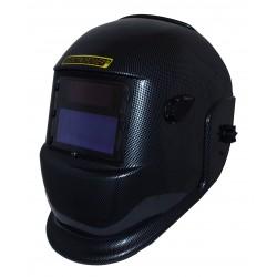 Masque de soudage, cagoule de soudure électronique noir carbone