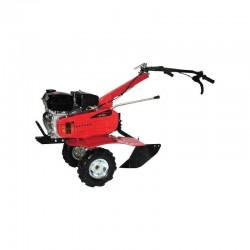 Motobineuse / Motoculteur 196 CC - Largeur de travail 75 cm - 6 fraises / roues agraires / contrepoids avant de 16 kg inclus