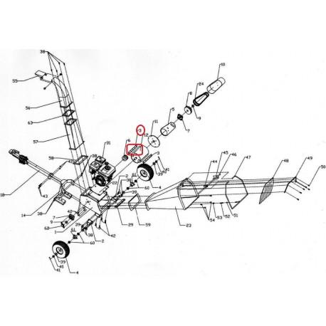 Lame de rotor pour MEP-B15DY