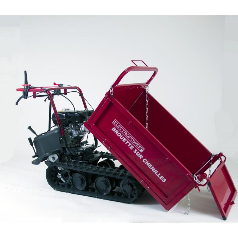 mini dumper - brouette motoris u00e9e  u00e0 chenilles 320 kg