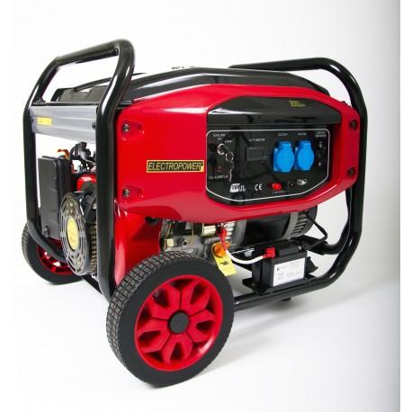 Groupe électrogène Essence - 7000 W - 230 V - AVR - Kit brouette